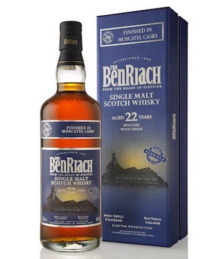 Benriach 22 Years Old Moscatel Cask Finish