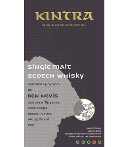 Kintra Ben Nevis 15 Years Old