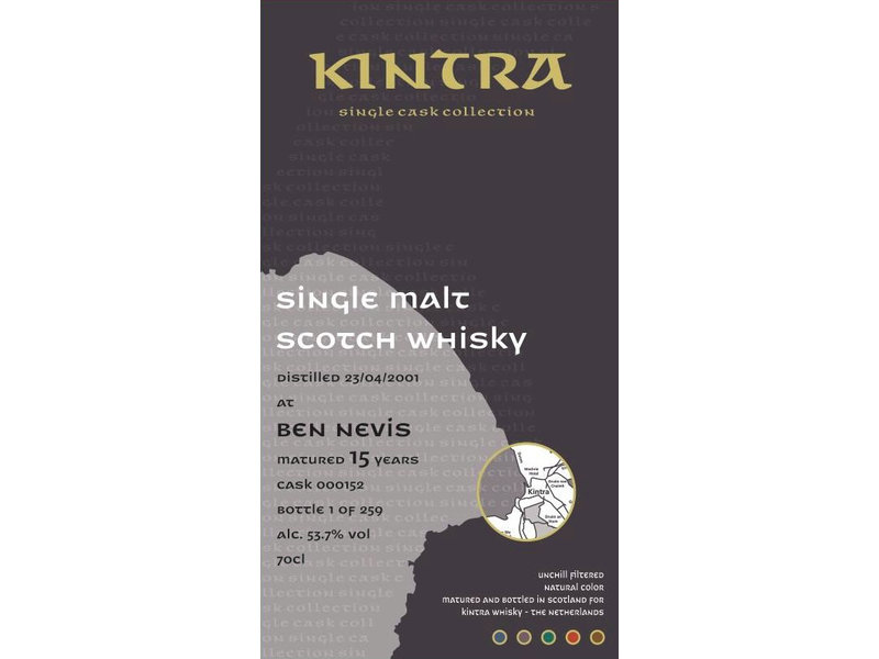 Kintra Ben Nevis 15 Years Old