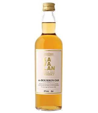 Kavalan Bourbon Oak 57% 20 CL