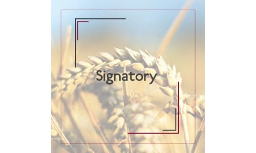 Signatory