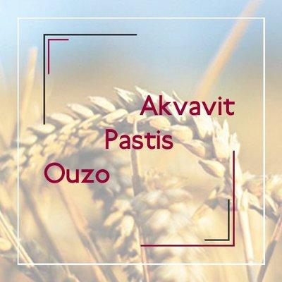 Akvavit / Pastis / Ouzo