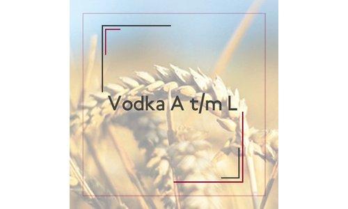 Vodka A t/m L