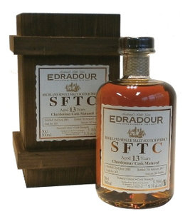 Edradour 13 Years Old Chardonnay Straight From The Cask