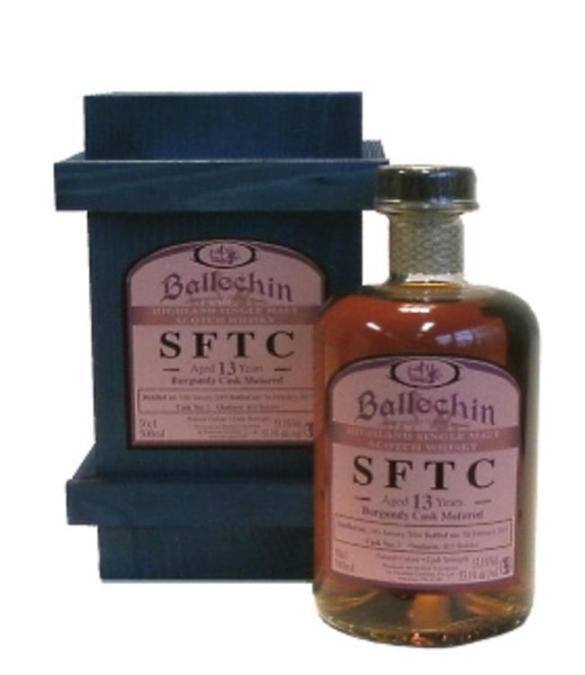 Ballechin 13 Years Old Burgundy Straight From The Cask 53.1%