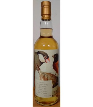 Sansibar Mannochmore 28 Years Old 1988 Birds Label
