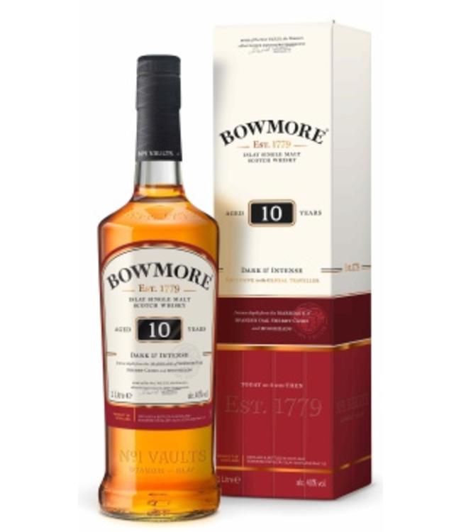 Bowmore 10 Years Old Dark & Intense Liter