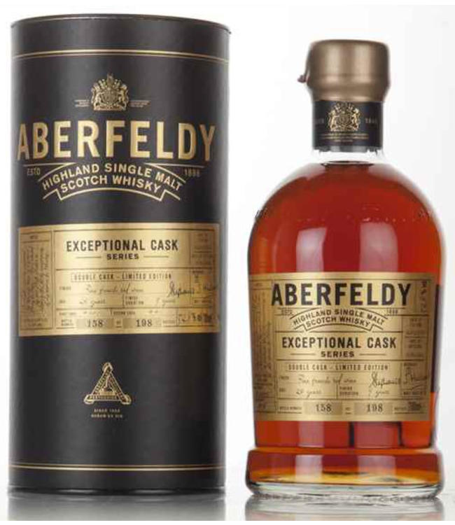 Aberfeldy 20 Years Old Exceptional Cask Series