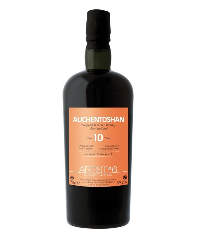 Auchentoshan 2001 Over 10 Years 6th Edition 59,2% Batch 2