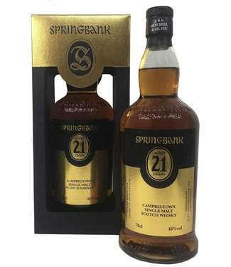 Springbank 21 Years Old 2017 Edition