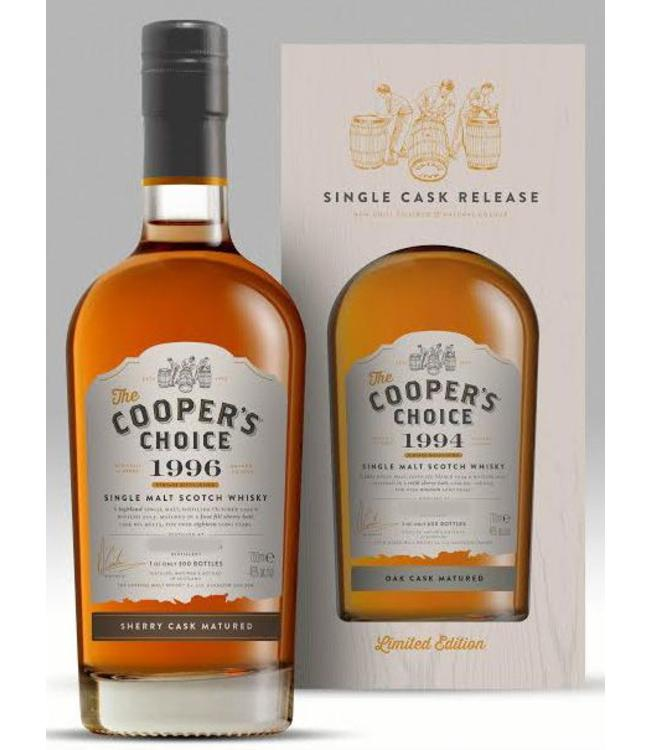 Ardmore 8 Years Old 2008 Cooper's Choice Cask 856