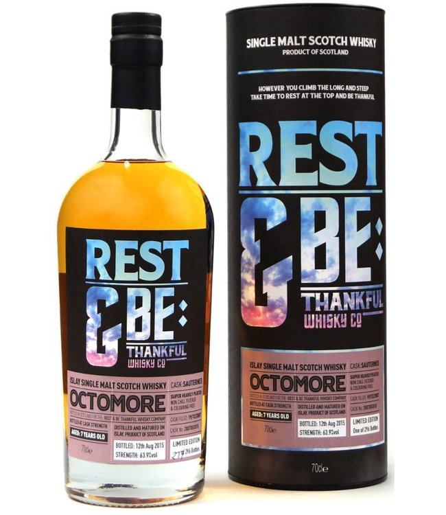 Octomore 6 Years Old 2007 Rest & Be Thankful Cask 2007003810