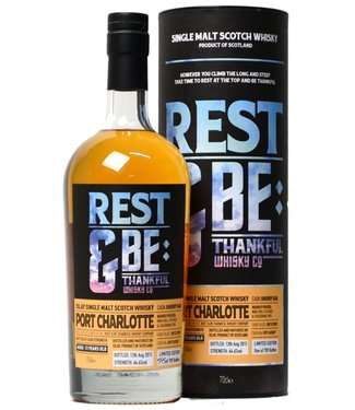 Port Charlotte 13 Years Old 2001 Rest & Be Thankful Cask R091600007