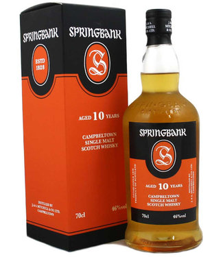 Springbank 10 Years Old New Label