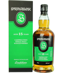 Springbank 15 Years Old New Label