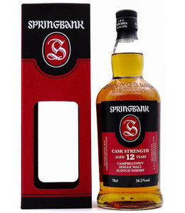 Springbank 12 Years Old Cask Strength 56,5%