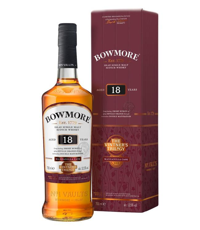 Bowmore 18 Years Old Manzanilla Casks
