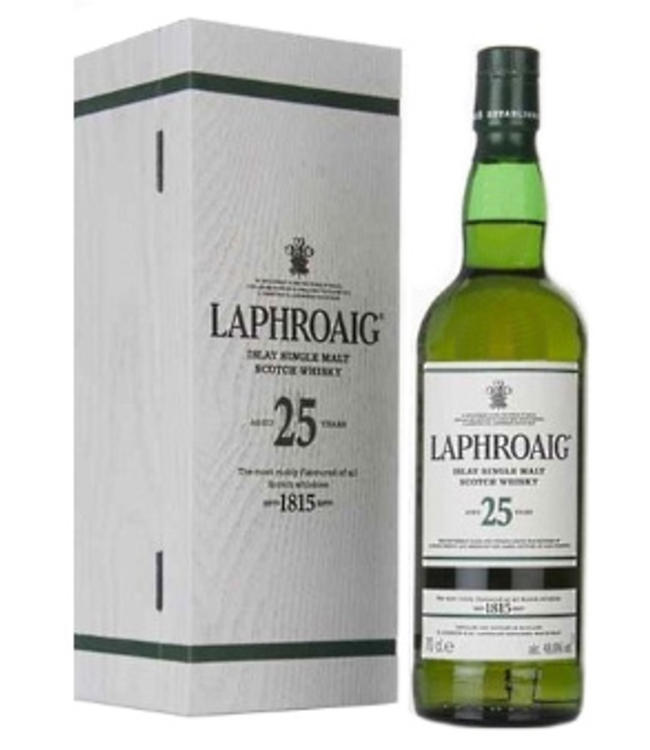 Laphroaig 25 Years Old Cask Strength 48,9%