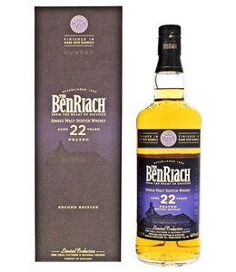 Benriach 22 Years Old Dunder Dark Rum Finish