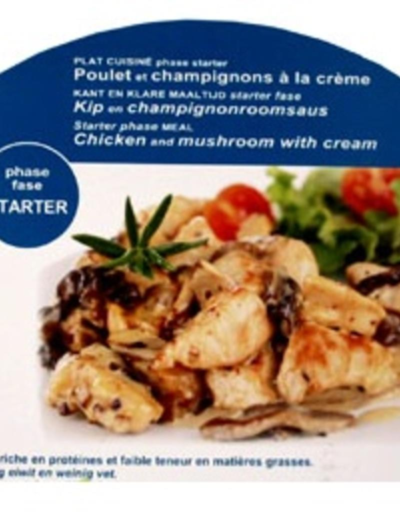 Kip met champignonroomsaus