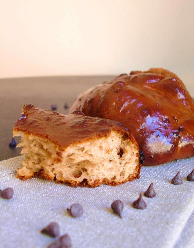 Chocolade Brioche (melkbrood met chocolade)