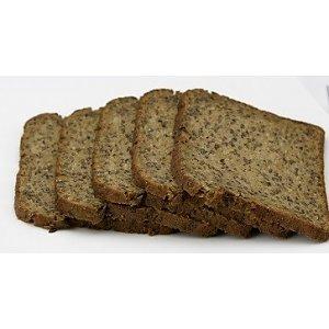 Proteïne maaltijden: brood sneetjes bruin