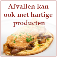 afvallen in een week menu