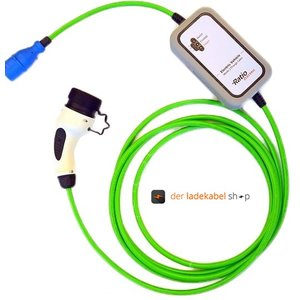 Ratio Transportabler Home Charger Typ 2 (weiblich/female) auf CEE 16A, 1 Phase, 10m