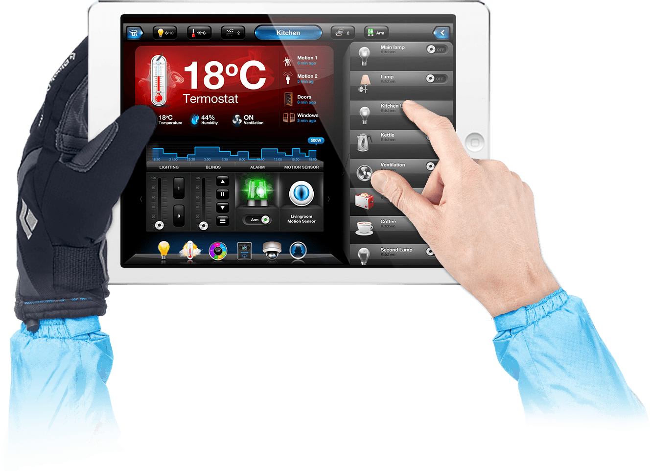 Fibaro Tablet