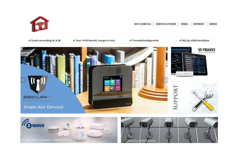 Nieuwe website Domoticawerkt