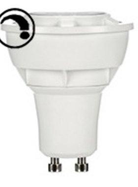 Opple LED EcoMax Reflectorlamp 230v 5.5W GU10 Dimbaar