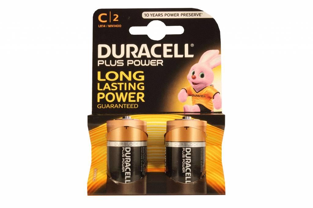 Alkaline batterijen C-cell M1400 LR14 baby 1,5V Duracell ...