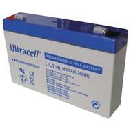 Loodaccu Ultracell 6V 7 Ah UL7-6
