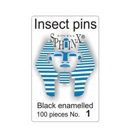 Insectenspeld zwart