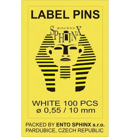 Ento Sphinx Label pins 10mm
