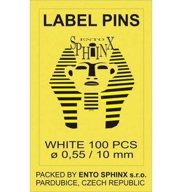 Label pins 10mm