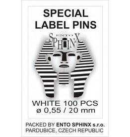 Label pins 20mm