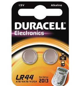 Duracell LR44 button cell