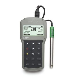 Hanna HI98190 portable waterproof pH, mV, ORP and temperature meter