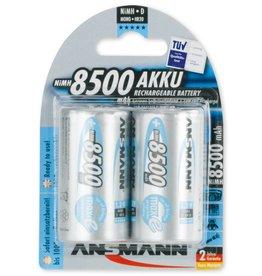 Ansmann Premium maxE NiMH 8500mAh D - 2 pack