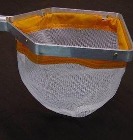 Compleet amfibienet (2-3mm) met frame en stok