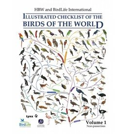Illustrated checklist of the birds of the world - volume 1