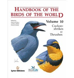 Handbook of the Birds of the World 10