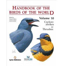 Handbook of the Birds of the World 10