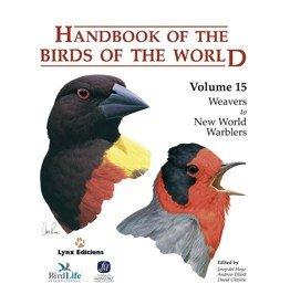Handbook of the Birds of the World 15