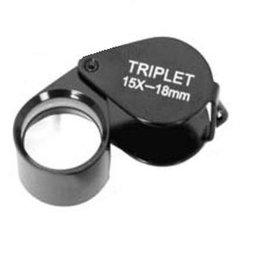 Benel Optics Loupe Triplet 10x, 15x and 20x