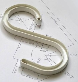 Cablesafe S-hook 12 inches