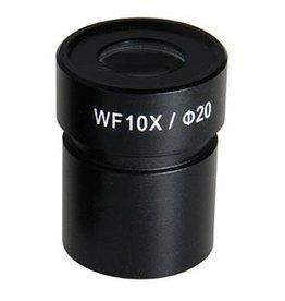 Euromex HWF 10x/20 mm Oculair met Micrometer StereoBlue