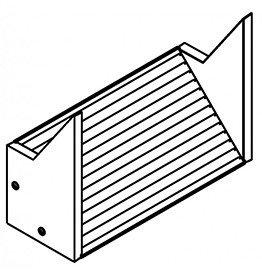 Schwegler Basissteen voor verzonken inbouw 1FTH/2FTH