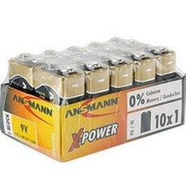 Ansmann Alkaline XPOWER 9V - 10pack